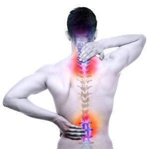 Massaggio shiatsu e colonna vertebrale