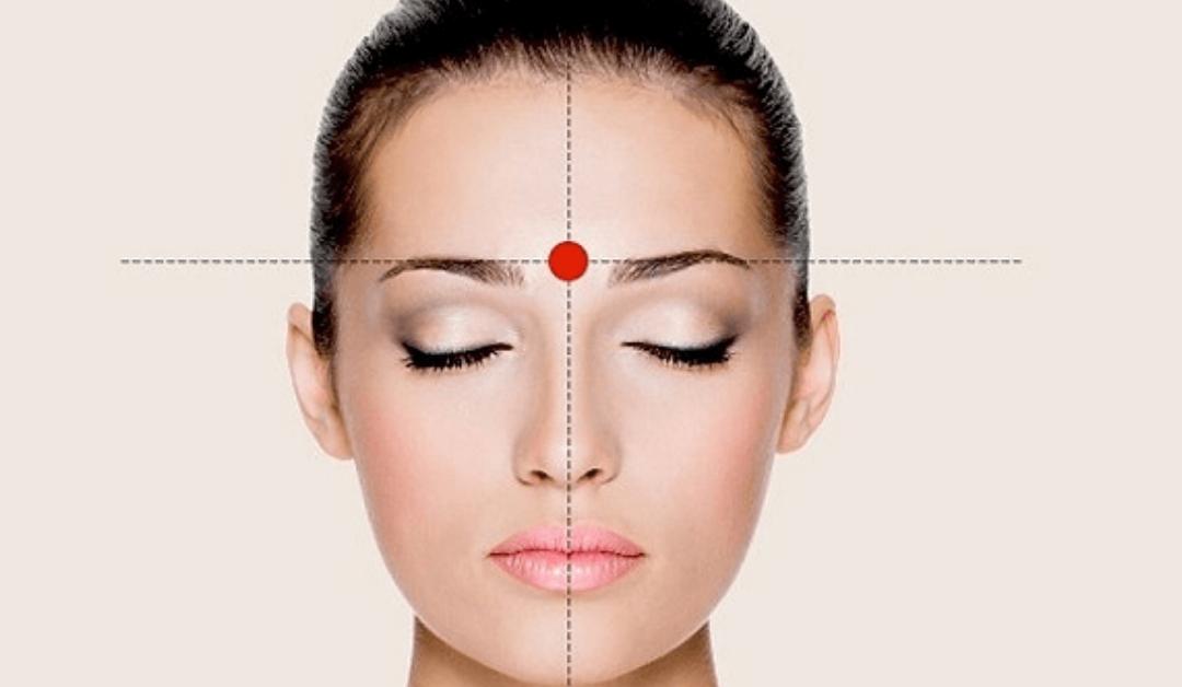Punti di pressione: Yin Tang. Lo tsubo dei guru.