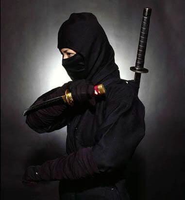 Tecniche ninja e 5 elementi
