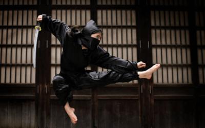 Shiatsu e Benessere con le 5 tecniche ninja.